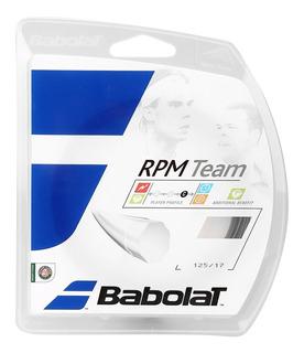 Encordado Cuerda Babolat Rpm Team Individual 12m 1.30mm