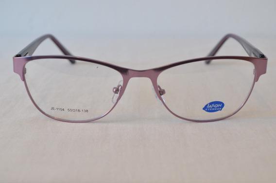 Armazón Anteojo Moda Tendencia Color Gafas Para Lentes Dama