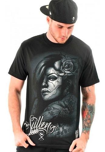 Imagem 1 de 2 de Camiseta Sullen Cali Girl Preta 5x