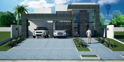 Casa 3 Suítes À Venda, 244 M², Alphaville Nova Esplanada 4 Em Votorantim/sp - Ca0511