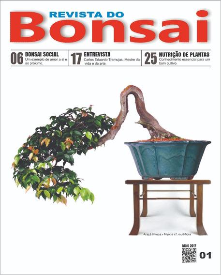 Revista Do Bonsai 01 E 02 - Frete Grátis
