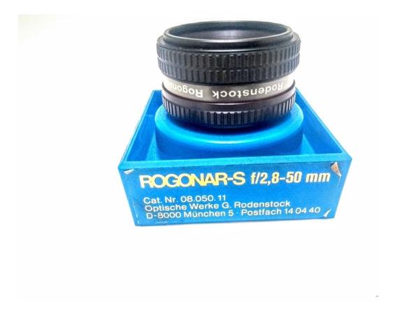 Rodenstock Lente 50mm F: 2,8 Na Caixa Pouco Uso P Ampliador