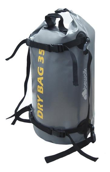 Bolso Estanco Para Moto 35 Litros Impemeable. Bewolk Drybag