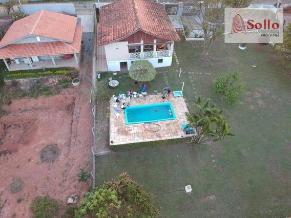 Casa Em Condomínio Fechado C/ 3 Dorms, Cond. Jardim Centenário- Parque Fernão Dias - Atibaia/sp - Ca0005