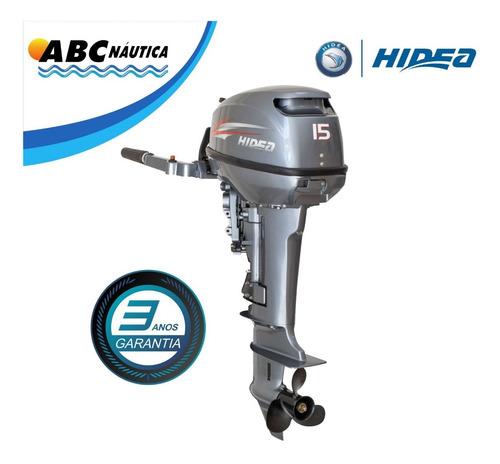 Motor De Popa 15hp Hidea