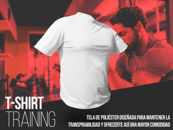 Playera Trainingfit 100% Poliester Gym Envio Inmediato!