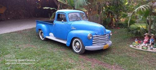 Chevrolet 3100 1951 Boca De Sapo 5 Janelas Cabine Canadense