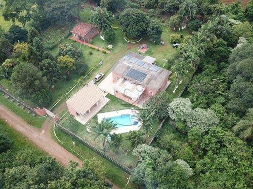 Imagem 1 de 14 de Chácara Com 3 Dormitórios À Venda, 6054 M² Por R$ 1.450.000,00 - Jardim Olímpico - Londrina/pr - Ch0031
