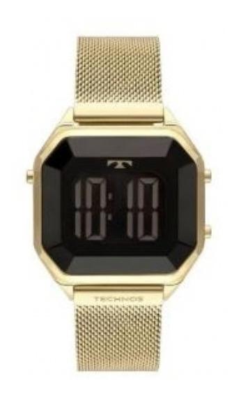 Relógio Technos Feminino Elegance Crystal Bj3851aj/4p