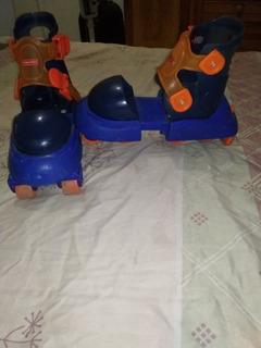 Patines Fisher Price Y Ajustables A Todo Tipo De Zapatos