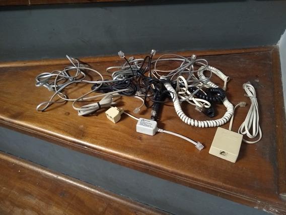 Lote Cables Telefonía / Computación
