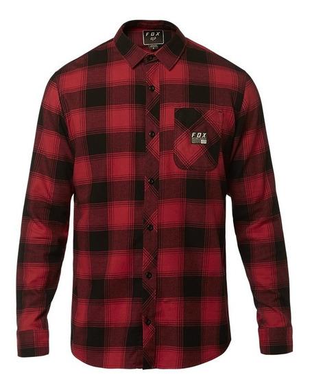 Camisa Fox Longview Ltwt Rojo Rio
