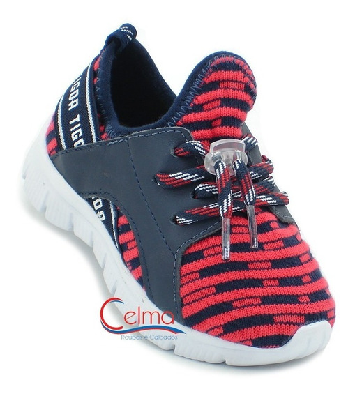 10207317 Tênis Infantil Tigor T. Tigre Neoknit Jogging