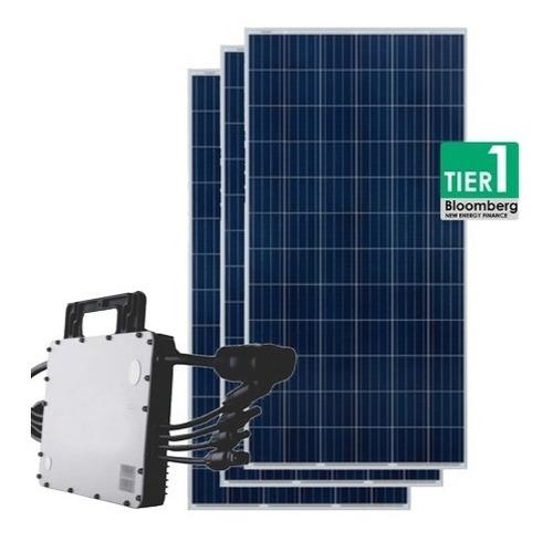 Gerador De Energia Solar 1,54 Kwp Hoymiles