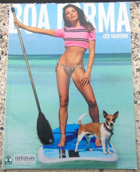 Revista Boa Forma Nº 374 Isis Valverde - Dezembro 2017