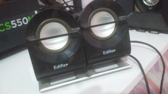2 Caixa Médio Do Som Edifier E1100