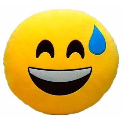 Almofada Pelúcia Smile Emotion Exausto Tam Gg 50cm