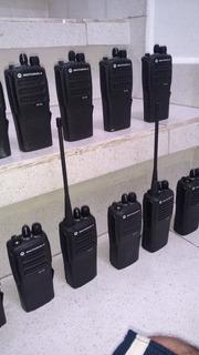 Radio Dep450 En Uhf Lote Con 10 Equipos Completos Seminuevos