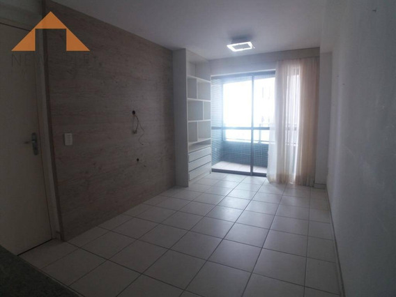 Apartamento Com 2 Quartos Para Alugar, 49 M² Por R$ 1.300/mês - Boa Viagem - Recife/pe - Ap0943