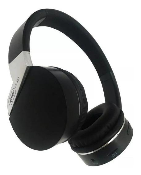 Fone Com Microfone Bluetooth Sem Fio Wireless Mp3 Radio Fm