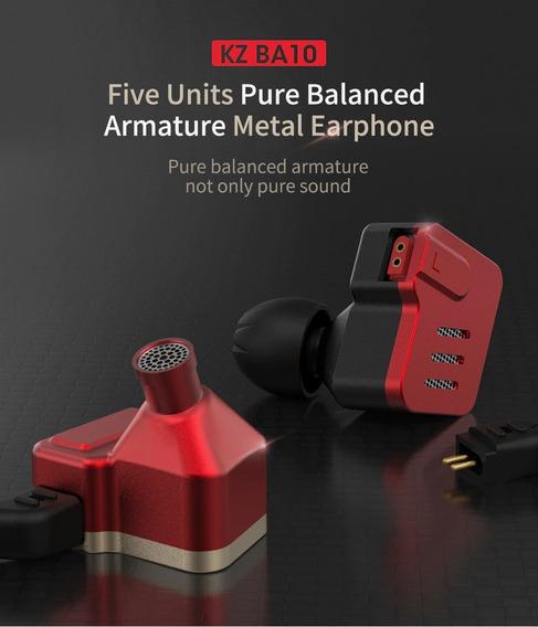 Fone In Ear Kz Ba10 - Original Produto Lacrado