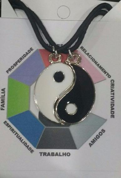 Conjunto Yin Yang Colar Que Divide Em 2 Partes Promoção
