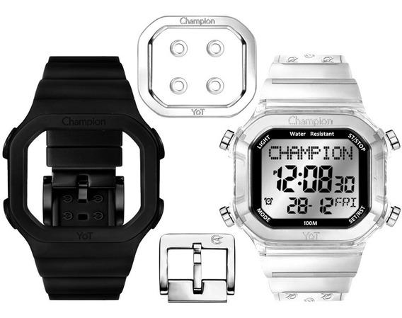 Relógio Original Champion Yot Cp40180x Nota Fiscal