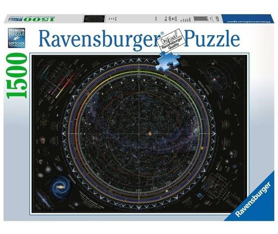 Mapa Universo Sistema Solar Rompecabezas 1500p Ravensburger