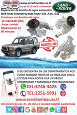 Reparación De Bomba De Agua Land Rover 3.9,4.0 Guatemala