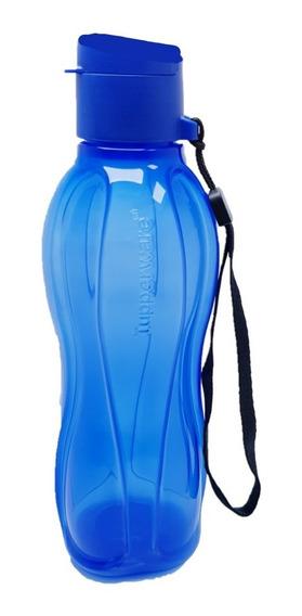 Garrafa Tupperware 500 Ml Azul Eco Tupper