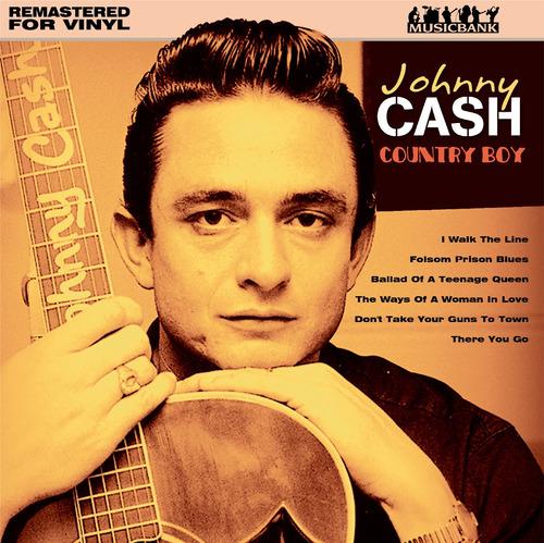 Imagen 1 de 2 de Vinilo Jhonny Cash, Country Boy, Nuevo