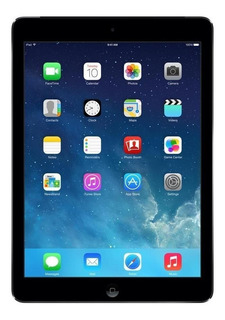 "iPad Apple iPad Air 1ª Generación 2014 A1474 9.7"" 32GB space grey con memoria RAM 1GB"