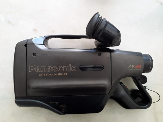 Filmadora Panasonic Vhs Mod-afx8-leia O Anúncio