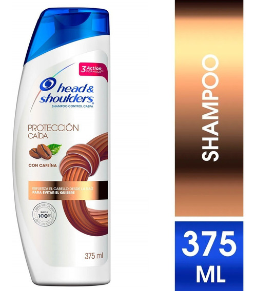 Shampoo Head & Shoulders Proteccion Caida 375 Ml