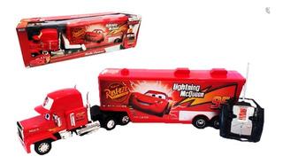 Camión Cars Mack Truck A Radio Control Rojo Original Ditoys