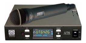 Microfone Sem Fio Profissional Superlux Ut64 Modelo Pro248