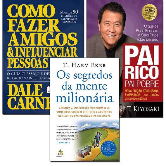 Pai Rico Pai Pobre + Como Fazer Amigos E Influenci + 1 Livro