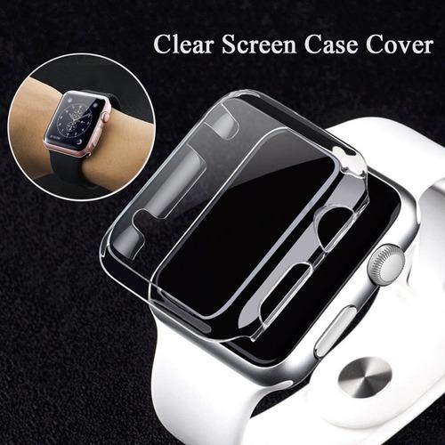 Imagen 1 de 8 de Protector Ultraslim Apple Watch 38mm Serie 3 Y 2 Antigolpes