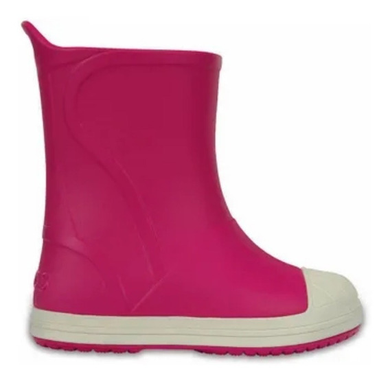 Bota De Lluvia Crocs Bump It Boot C203515 C6mi Fucsia Unisex