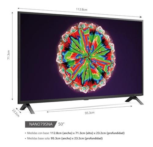 Tv LG Nanocell 50  2020 4k Wifi Bluetooth + Soporte Pared