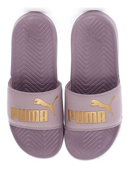 Chinelas Puma Pop Cat Lil/dor Unisex