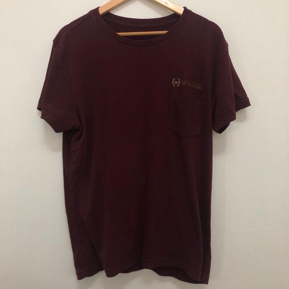 Camiseta Osklen Double Linen Collections (dupla Face)
