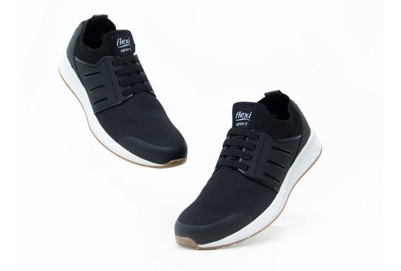 Zapatos Comodos Caballero Flexi 97405 Negro 100% Originales