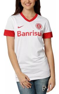 Camisa Fem. Internacional Nike Branca + Nota Fiscal Ctsports