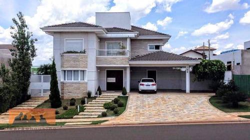 Imagem 1 de 20 de Casa Com 4 Dormitórios À Venda, 310 M² Por R$ 2.300.000,00 - Residencial Estância Eudóxia - Campinas/sp - Ca1257