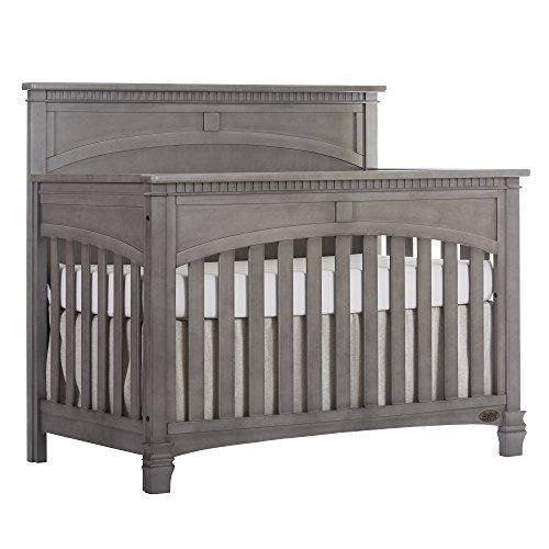 Evolur Santa Fe 5in1 Convertible Crib Storm Grey