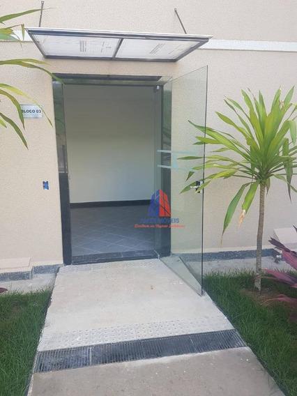 Apartamento Com 2 Dormitórios Para Alugar, 46 M² Por R$ 950/mês - Residencial Parque Amarilis - Jardim Das Laranjeiras - Santa Bárbara D