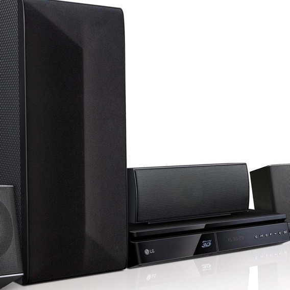 Home Theater Lg Lhb625m 5.1 Canais Com Blu-ray Player 3d,