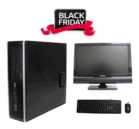 Computador Hp 8100 I5 4gb 240ssd Monitor Tv 18,5 Polegadas