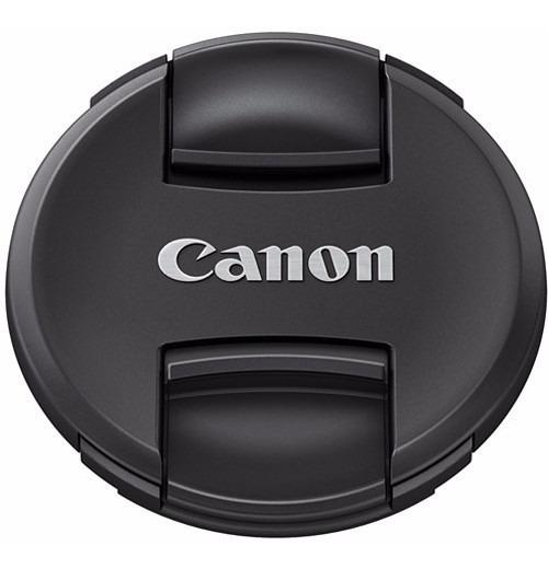 Canon E-72 Ii 72mm Tampa Original Frontal Da Lente